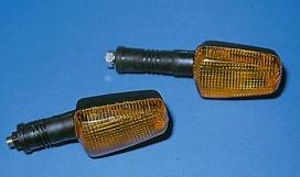 202-711, Поворотник SHINO для Yamaha FZR 600 `89-`93, с длинной ручкой 85мм
