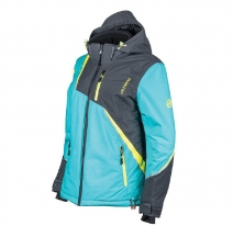 247-0002 (Бирюзовый/Серый, XS), Женская куртка DULUTH