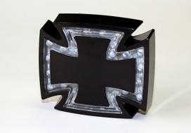 255-095, Стоп сигнал готический крест, цвет черный