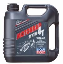 7512, моторное масло 4T 10w40, размер 4 л