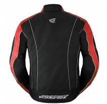A01522-032-S, Текстильная куртка Apex, размер S, цвет черно-красная