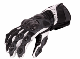 A02304-391-11, Мотоперчатки кожаные evolution черн/сер/бел, размер XL