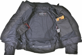 A02504-039-S, Текстильная куртка Jerez, серая/антрацит, размер S