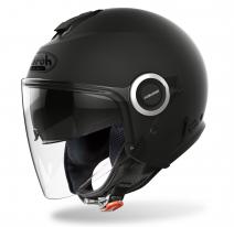 HE11 (черный, S), Шлем открытый Airoh HELIOS, мат., размер S, цвет черный