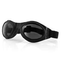 BA001, Очки bugeye чёрные с дымчатыми линзами