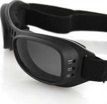 BRR001, Очки road runner чёрные с дымчатыми линзами