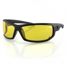 EAXL001Y, Очки axl чёрные с жёлтыми линзами antifog