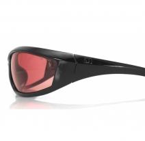 ECHA001R, Очки charger чёрные с розовыми линзами antifog ansi z87+