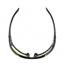 ECHA001Y, Очки charger чёрные с жёлтыми линзами antifog ansi z87+
