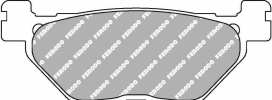 FDB2126P, Тормозные колодки fdb2126