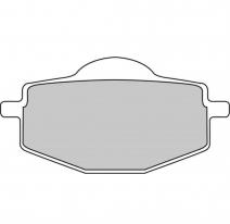 FDB383P, Тормозные колодки дисковые, FERODO(FDB383P)