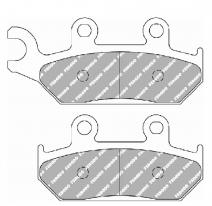 FDB737P, Тормозные колодки дисковые, FERODO(FDB737P)