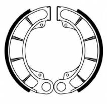 FSB761, Тормозные колодки барабанные, FERODO(FSB761)