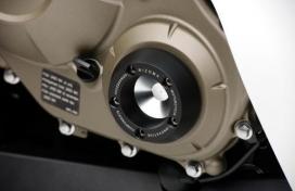 ZHH052B, Слайдер на боковую крышку двигателя, цвет черный