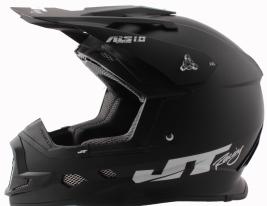 JT15 (Термопластик, мат., Черный, XL), Шлем кроссовый  ALS1.0 черный, размер XL