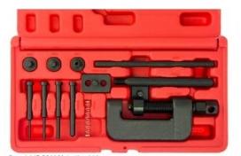 JTCTOOL1, Набор инструмента для расклёпки/заклёпки цепи JT