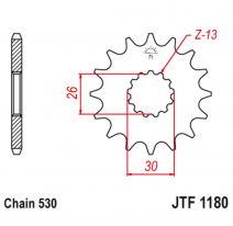 1180.19, Звезда ведущая , JT 1180.19