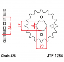 1264.15, Звезда ведущая , JT 1264.15