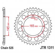 1311.45, Звезда задняя (ведомая),(сталь) JT 1311.45