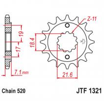 1321.13, Звезда ведущая , JT 1321.13