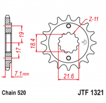 1321.14, Звезда ведущая , JT 1321.14