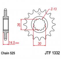 1332.15, Звезда ведущая , JT 1332.15