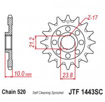 1443.14SC, Звезда ведущая , JT 1443.14SC