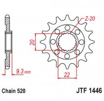 1446.14SC, Звезда ведущая , JT 1446.14SC