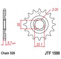 1590.12, Звезда ведущая , JT 1590.12