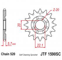 1590.14SC, Звезда ведущая , JT 1590.14SC