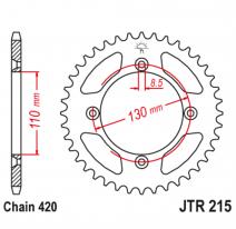 215.50, Звезда задняя (ведомая),(сталь) JT 215.50