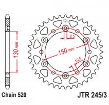 245/3.43, Звезда задняя (ведомая),(сталь) JT 245/3.43