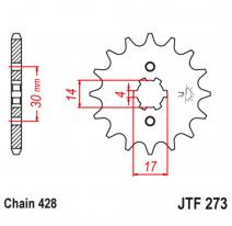 273.14, Звезда ведущая , JT 273.14