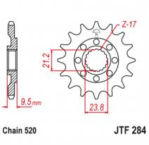 284.15, Звезда ведущая , JT 284.15