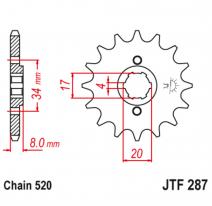 287.14, Звезда ведущая , JT 287.14