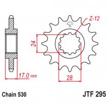 295.16, Звезда ведущая , JT 295.16
