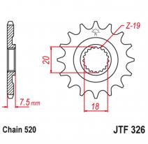 326.14, Звезда ведущая , JT 326.14