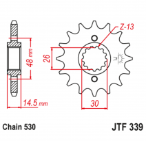 339.17, Звезда ведущая , JT 339.17