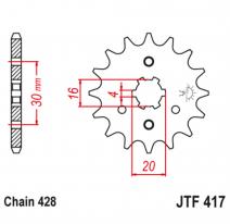 417.14, Звезда ведущая , JT 417.14