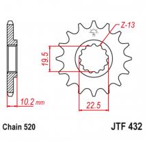 432.11, Звезда ведущая , JT 432.11