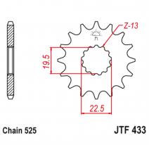 433.15, Звезда ведущая , JT 433.15