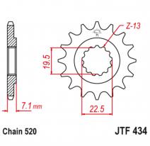 434.14, Звезда ведущая , JT 434.14