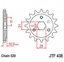 438.15, Звезда ведущая , JT 438.15