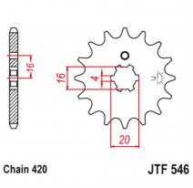 546.12, Звезда ведущая , JT 546.12