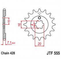 555.15, Звезда ведущая , JT 555.15