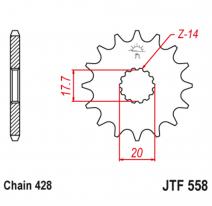 558.14, Звезда ведущая , JT 558.14