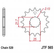 565.16, Звезда ведущая , JT 565.16