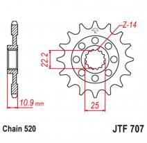 707.15, Звезда ведущая , JT 707.15
