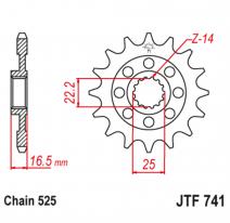 741.15, Звезда ведущая , JT 741.15
