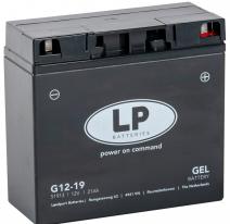 G12-19, Аккумулятор Landport G12-19, 12V, GEL
